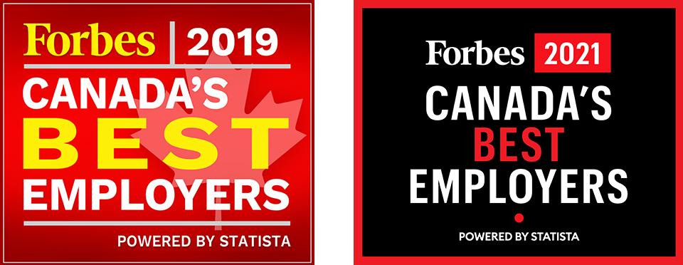 Forbes best employer awards